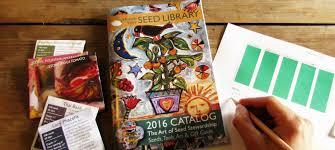 Seed catalog & planning